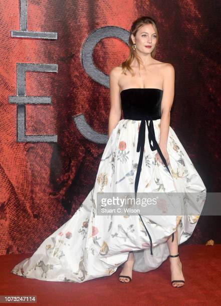 Leila George attends the Mortal Engines world premiere at Cineworld Leicester Square on November 27 2018 in London England