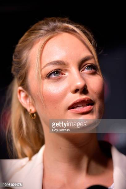 Leila George D'Onofrio attends the Mortal Engines panel during the New York Comic Con 2018 at Javits Center on October 5 2018 in New York City