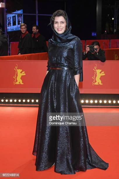 Leila Hatami attends the 'Pig' premiere during the 68th Berlinale International Film Festival Berlin at Berlinale Palast on February 21 2018 in...