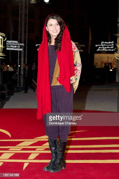Leila Hatami attends the 'When The Night' Red Carpet Premiere during Marrakech International Film Festival 2011 on December 6 2011 in Marrakech...
