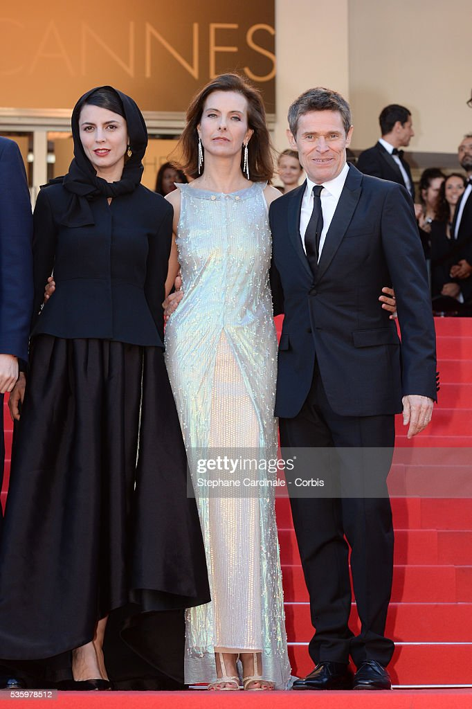 Leila Hatami, Carole Bouquet and Willem Dafoe at the Closing ceremony and 'A Fistful of Dollars' screening during 67th Cannes Film Festival