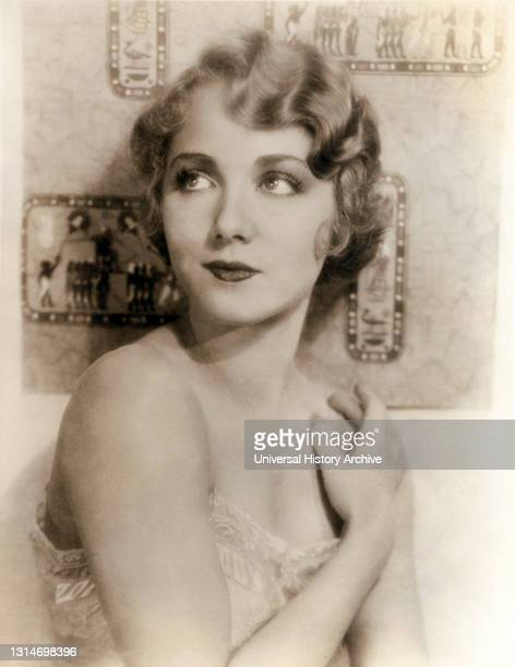 """Leila Hyams, Publicity Portrait for the Film, """"The Idle Rich"""", MGM, 1929."""