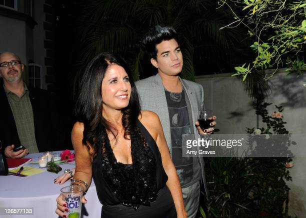 Leila Lambert and Adam Lambert are honored at the 2011 PFLAG National LA Event on September 25 2011 in Beverly Hills California