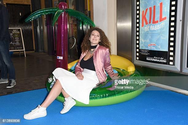 Leila Lowfire attends the 'Affenkoenig' Berlin Premiere at Kino in der Kulturbrauerei on October 5 2016 in Berlin Germany