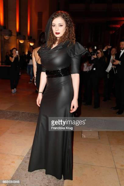 Leila Lowfire attends the Echo award after show party on April 6, 2017 in Berlin, Germany.
