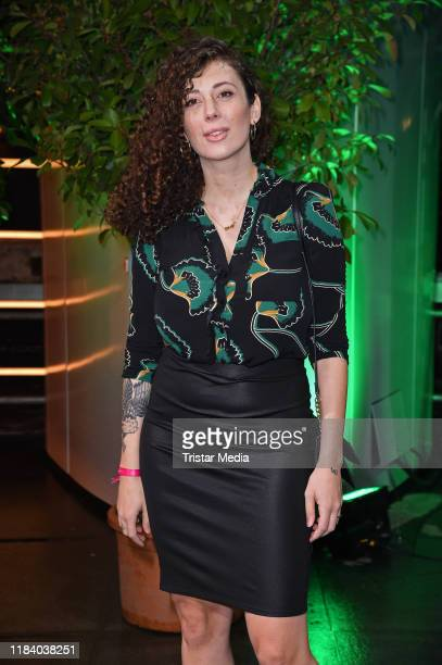 Leila Lowfire attends the International Music Awards at Verti Music Hall on November 22, 2019 in Berlin, Germany.
