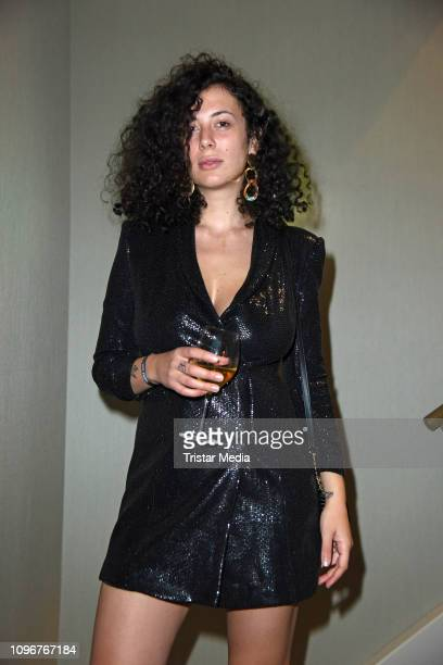 Leila Lowfire attends the Lausbubenparty during the 69th Berlinale International Film Festival at Hotel Waldorf Astoria on February 9 2019 in Berlin...