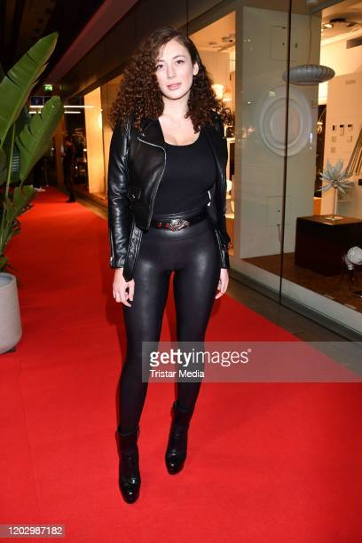 Leila Lowfire attends the Plot Point Party during the 70th Berlinale International Film Festival Berlin at Stilwerk on February 23, 2020 in Berlin,...