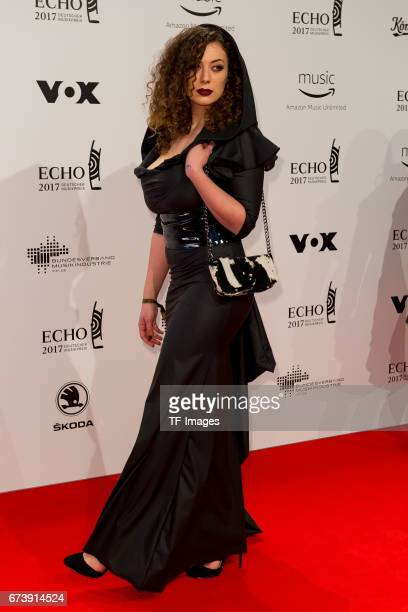 Leila Lowfire on the red carpet during the ECHO German Music Award in Berlin, Germany on April 06, 2017.