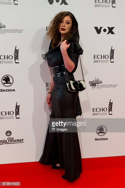 Leila Lowfire on the red carpet during the ECHO German Music Award in Berlin Germany on April 06 2017