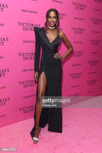 Leila Nda attends 2017 Victoria's Secret Fashion Show In Shanghai After Party at MercedesBenz Arena on November 20 2017 in Shanghai China