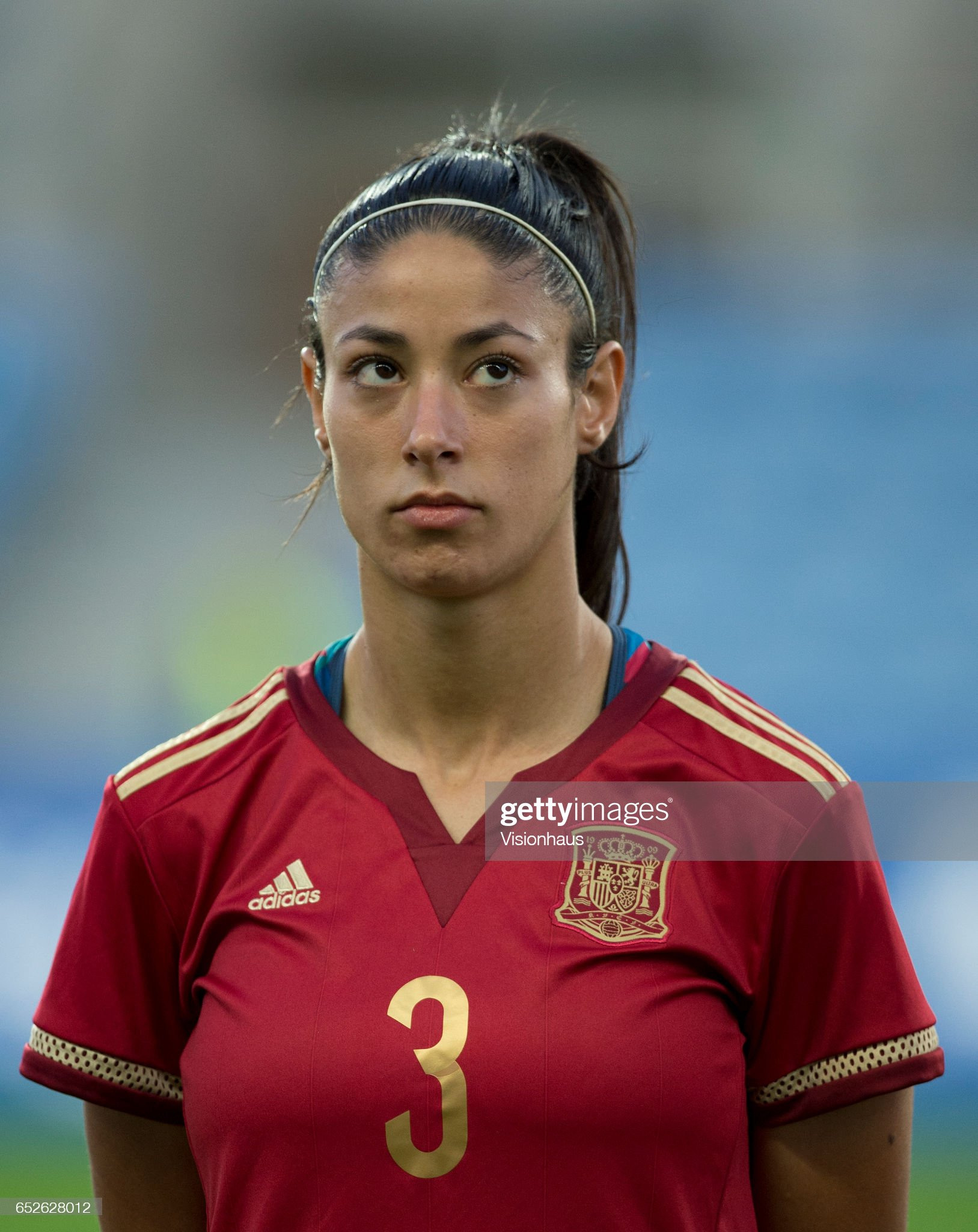 ¿Cuánto mide Leila Ouahabi? - Altura Leila-ouahabi-el-ouahabi-of-spain-during-the-2017-algarve-cup-final-picture-id652628012?s=2048x2048