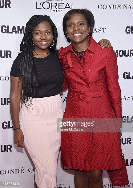Leila Roker and Deborah Roberts attend the Glamour 2014 Women Of The Year Awards at Carnegie Hall on November 10 2014 in New York City