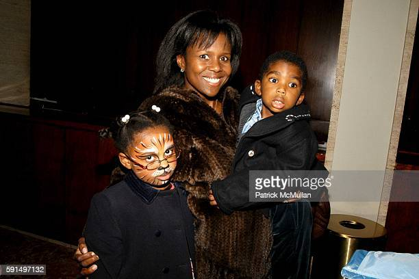 Leila Roker Debra Roberts and Nicholas Roker attend New York City Opera hosts The Little Prince Family Benefit at New York State Theater on November...