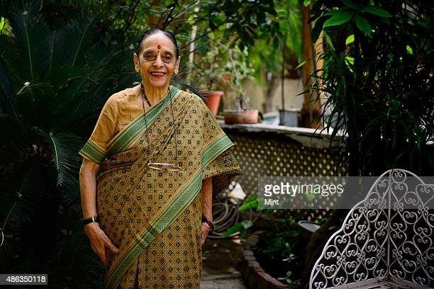 Leila Seth first woman judge on the Delhi High Court and the first woman to become Chief Justice of a state High Court at her home during an...