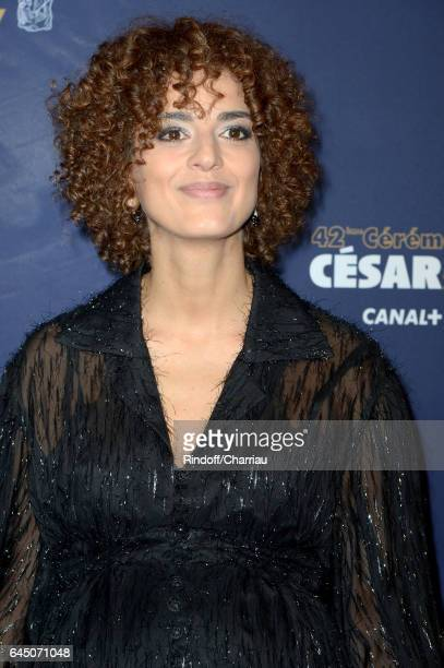 Leila Slimani arrives at the Cesar Film Awards Ceremony at Salle Pleyel on February 24 2017 in Paris France