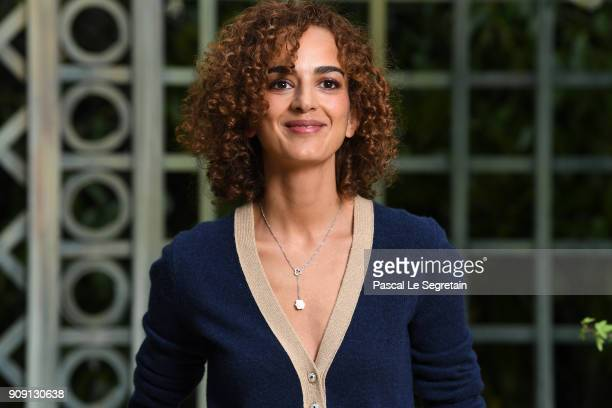 Leila Slimani attends the Chanel Haute Couture Spring Summer 2018 show as part of Paris Fashion Week on January 23 2018 in Paris France