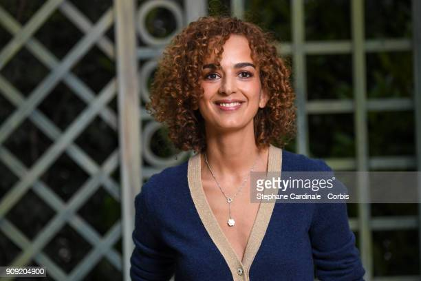 Leila Slimani attends the Chanel Haute Couture Spring Summer 2018 show as part of Paris Fashion Week January 23 2018 in Paris France