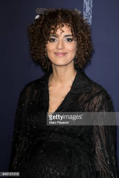 Leila Slimani attends the the Cesar Film Awards 2017 ceremony at Salle Pleyel on February 24 2017 in Paris France