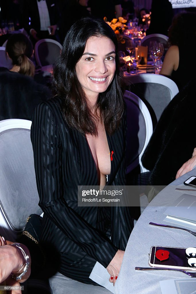 Leila Yavari attends the Sidaction Gala Dinner 2016 as part of Paris Fashion Week. Held at Pavillon d'Armenonville on January 28, 2016 in Paris, France.