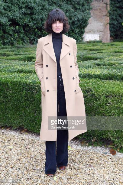 Leila Yavari attends Treasures of Rome Book Presentation on February 1 2018 in Rome Italy