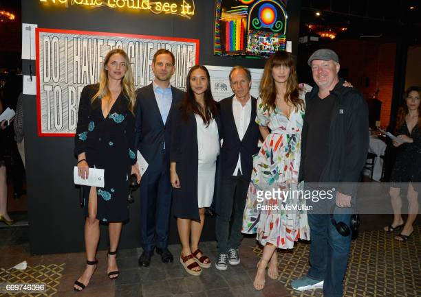 Leilani Bishop Peter Makebish Jackie Nguyen Michael Halsband Manon von Gerkan and John Newsom attend The Turtle Conservancy's 4th Annual Turtle Ball...