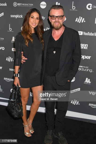 Leilani Dowding and Billy Duffy attend the Association of Independent Music Awards 2019 at The Roundhouse on September 03 2019 in London England