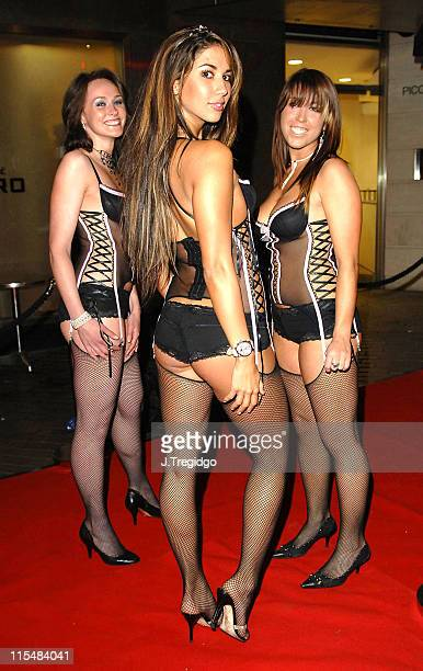 Leilani Dowding and guests during Against Nature London Premiere After Party at Isis in London Great Britain