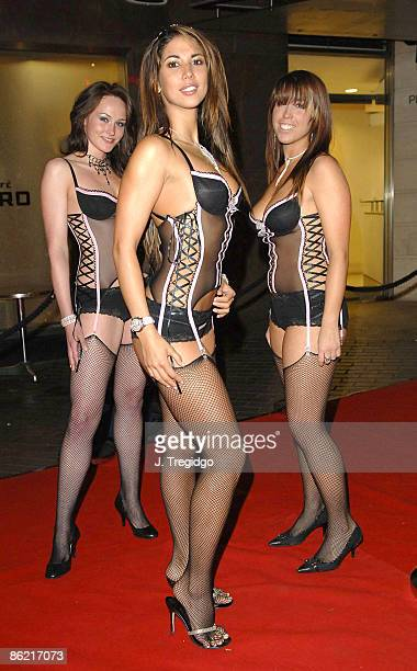 Leilani Dowding and guests