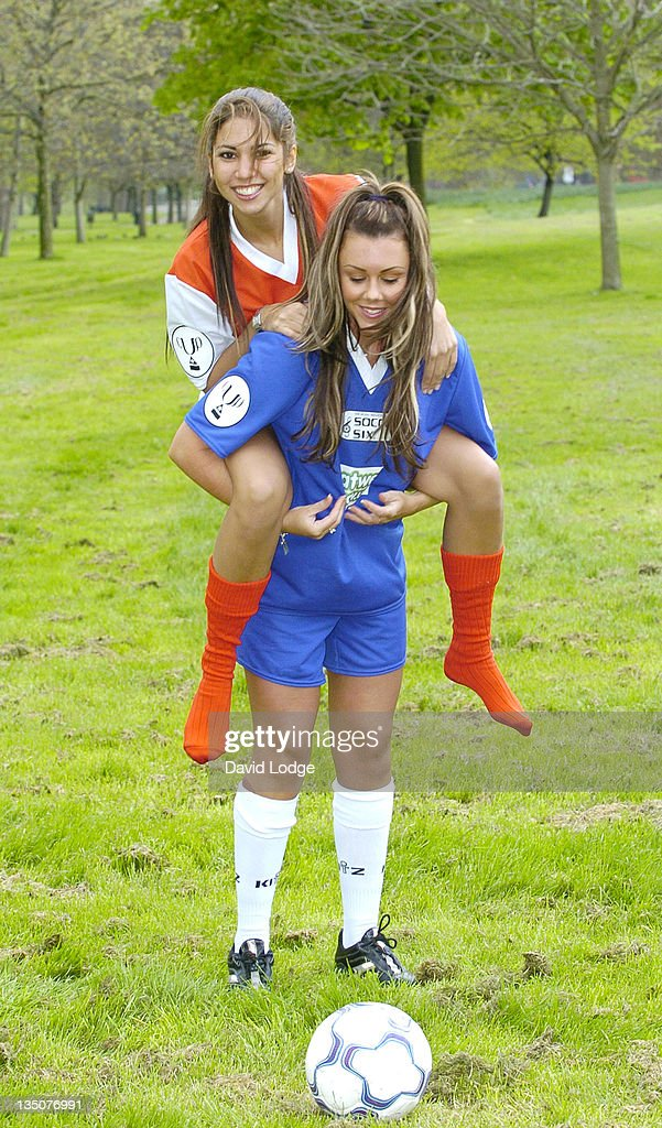 Music Industry Soccer Six - 2005 Launch : News Photo