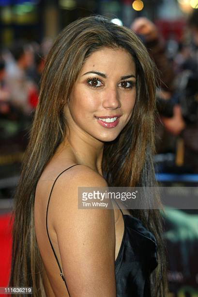 Leilani Dowding during House of Wax London Premiere Arrivals at Vue Leicester Square in London Great Britain