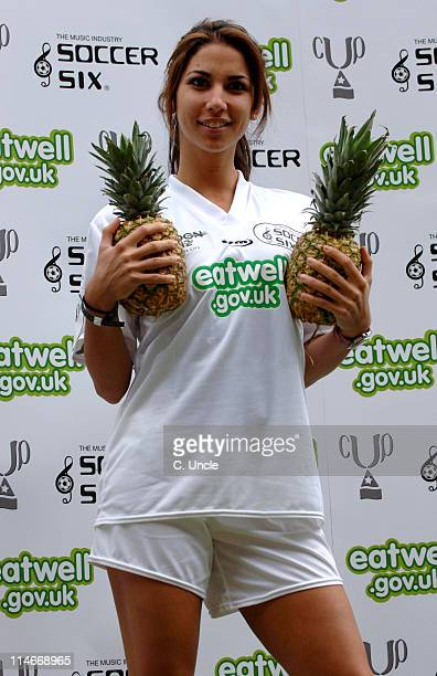 Leilani Dowding during Music Industry Soccer Six at Upton Park in London Great Britain