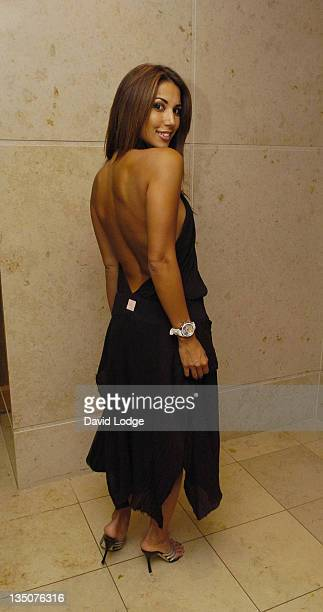 Leilani Dowding during Poker Million 2005 Finale Party at Hilton London Metropole in London Great Britain