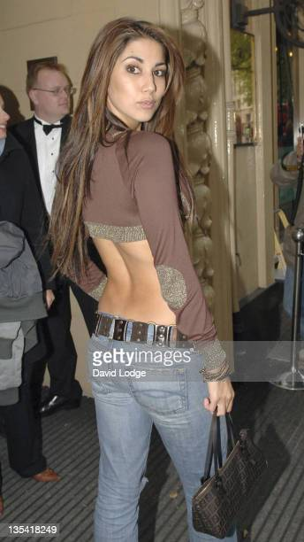 Leilani Dowding during Specsavers Sexy Specs 2005 Grand Final in London Great Britain