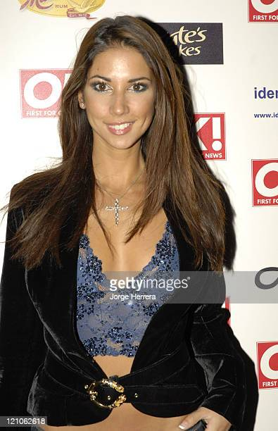 Leilani Dowling during Ok Christmas Party Outside Arrivals in London Great Britain
