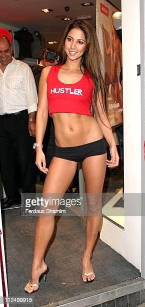 Leilani during Hustler Hollywood London Store Opening at Hustler Hollywood in London Great Britain
