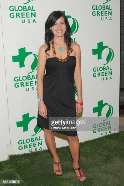 Leilani Munter attends 6th Annual Global Green USA PreOscar Party at Avalon Hollywood on February 19 2009 in Hollywood California