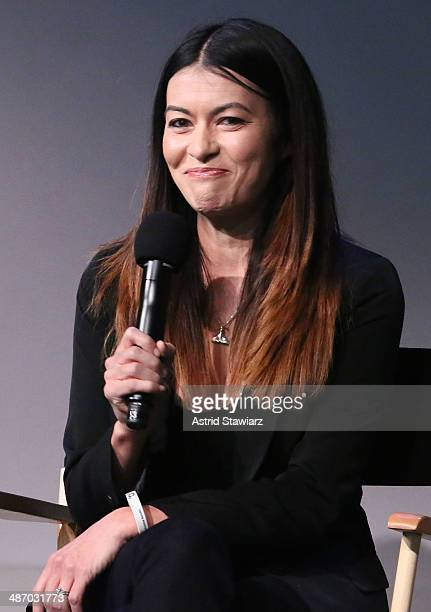 Leilani Munter attends Apple Store Soho Presents Tribeca Film Festival Louie Psihoyos Fisher Stevens And Leilani Munter 6 at Apple Store Soho on...