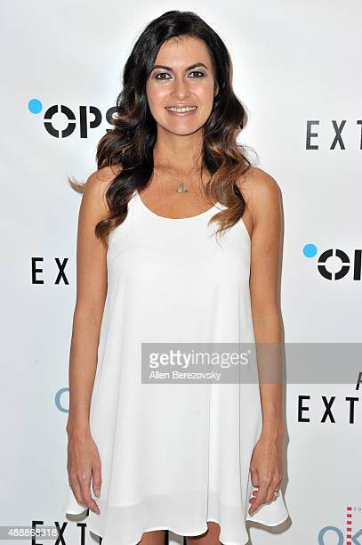 Leilani Munter attends the Premiere of Discovery Channel's Racing Extinction at The London West Hollywood on September 17 2015 in West Hollywood...
