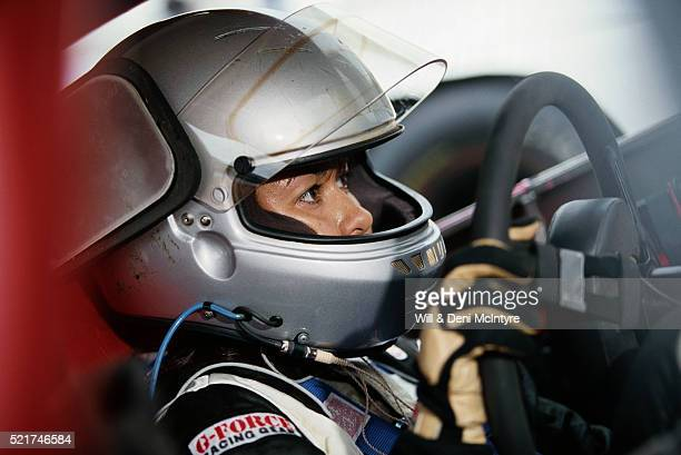 leilani munter ready for race - leilani munter stock pictures, royalty-free photos & images
