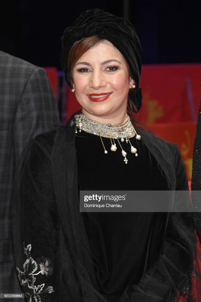 Leili Rashidi attends the 'Pig' (Khook) premiere during the 68th Berlinale International Film Festival Berlin at Berlinale Palast on February 21, 2018 in Berlin, Germany.