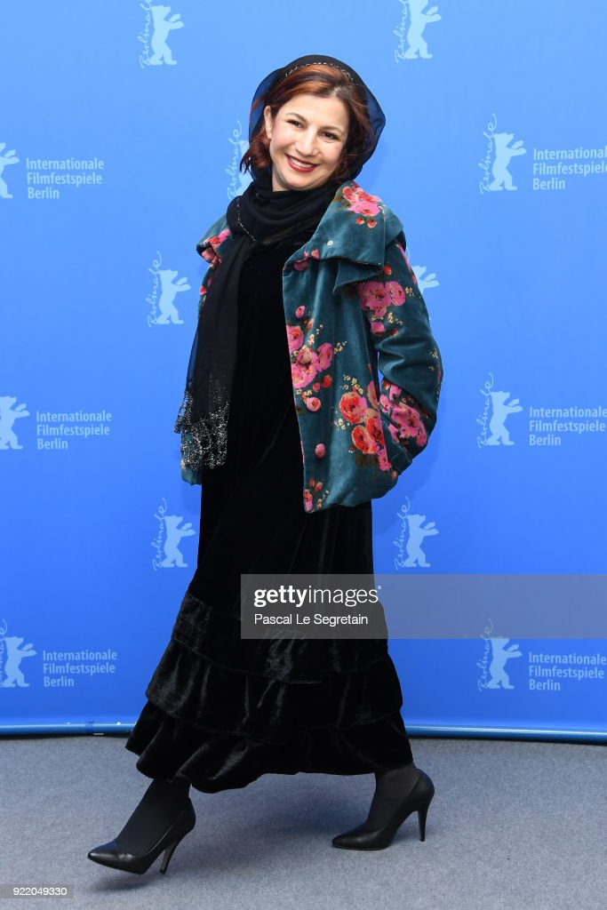 Leili Rashidi poses at the 'Pig' (Khook) photo call during the 68th Berlinale International Film Festival Berlin at Grand Hyatt Hotel on February 21, 2018 in Berlin, Germany.