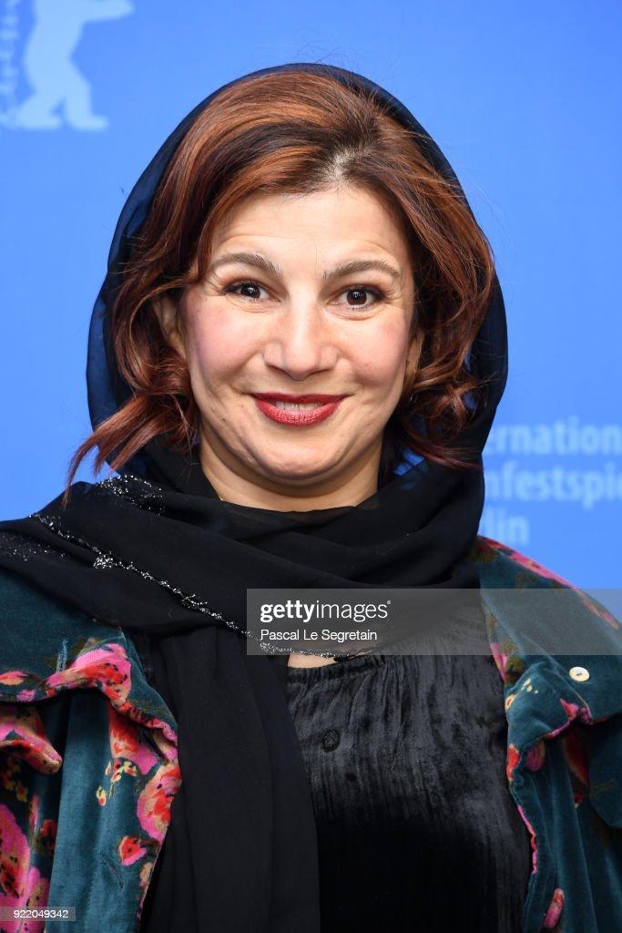 Leili Rashidi poses at the 'Pig' (Khook) photo call during the 68th Berlinale International Film Festival Berlin at Grand Hyatt Hotel on February 21, 2018 in Berlin, Germany.
