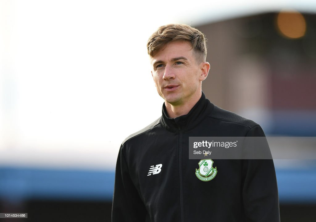 Leinster , Ireland - 10 August 2018; Ronan Finn of Shamrock Rovers prior to the Irish Daily Mail FAI Cup First Round match between Drogheda United v Shamrock Rovers at United Park, in Drogheda.