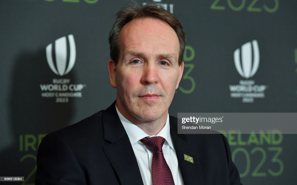 Leinster , Ireland - 22 March 2017; Ireland 2023 Oversight Board member Kevin Potts in attendance at an Ireland 2023 Rugby World Cup Media Conference at the Merrion Hotel in Dublin following a two day visit by the World Rugby Technical Review Group visit as part of Ireand's bid to host the 2023 Rugby World Cup.