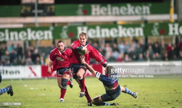 Leinster Vs Llanelli in the European Rugby Cup match in Donnybrook, circa November 1998 . .
