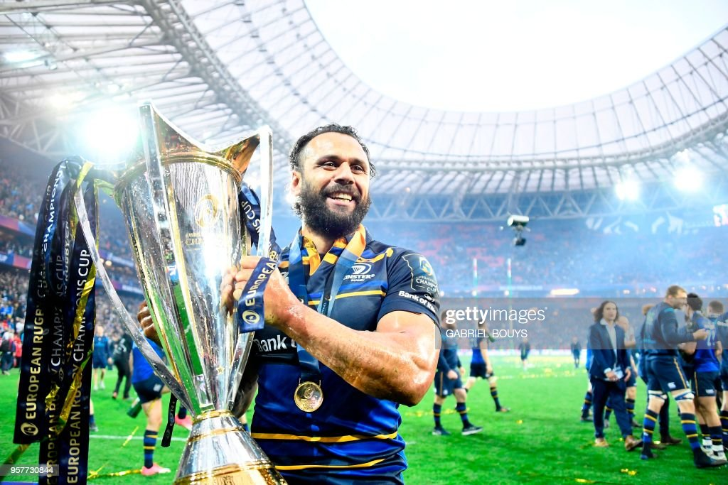 RUGBYU-EUR-CUP-RACING-LEINSTER : News Photo