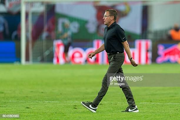 Leipzig Germany 1Bundesliga 2 Spieltag RB Leipzig BV Borussia Dortmund 10 Sportdirektor Ralf Rangnick