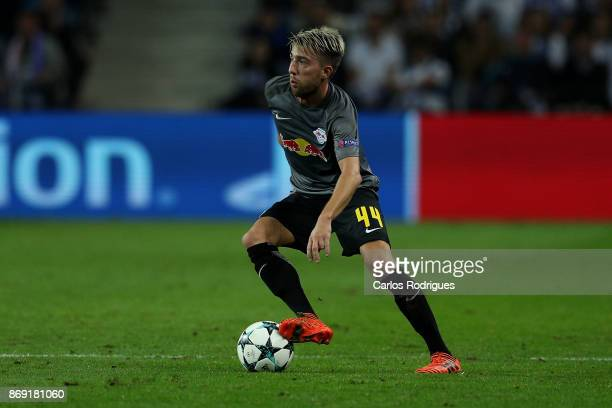 Leipzig midfielder Kevin Kampl from Slovenia during the match between FC Porto v RB Leipzig or the UEFA Champions League match at Estadio do Dragao...