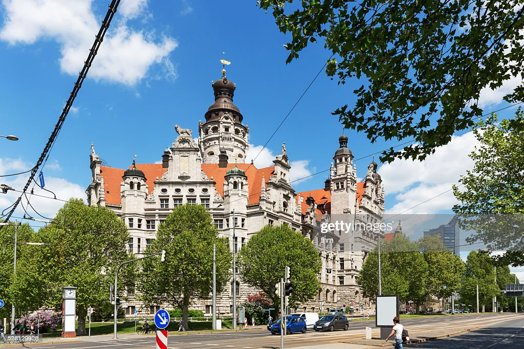 Leipzig New Town Hall Is The Seat Of The Leipzig City Administration High Res Stock Photo Getty Images